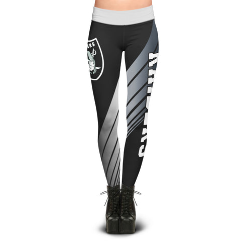 Oakland Raiders Dynamic Sublimation Leggings