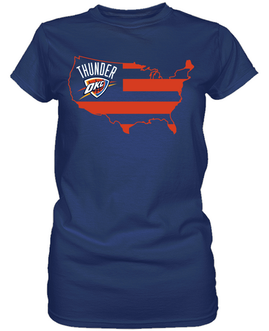 Oklahoma City Thunder - Broad Stripes