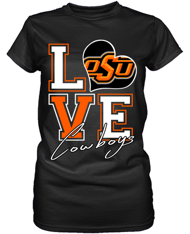 Love - Oklahoma State Cowboys