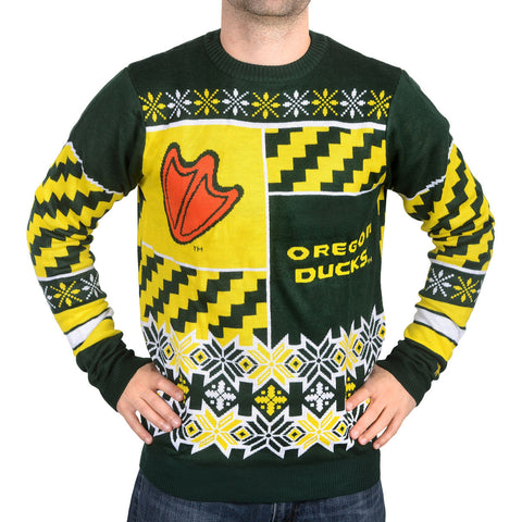 Oregon Ducks Thematic Ugly Sweater