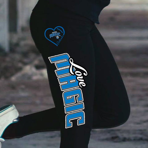 Love Orlando Magic Cotton Leggings
