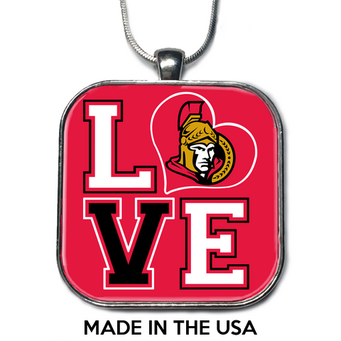 Love Ottawa Senators Necklace