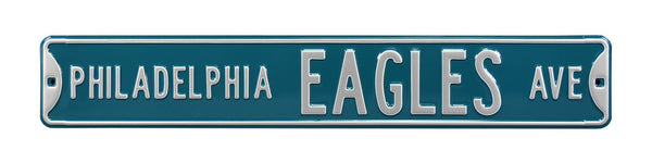 Philadelphia Eagles Ave Sign
