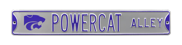 "Kansas State Wildcats ""Powercat Alley"" Sign"