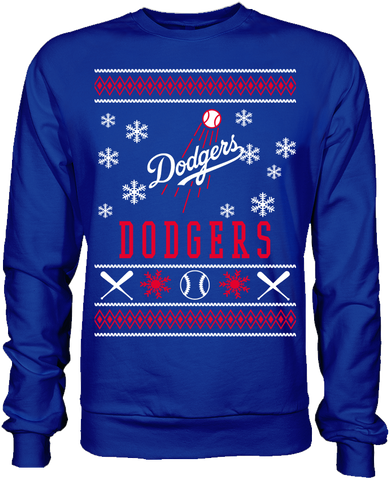 Los Angeles Dodgers Holiday Sweater