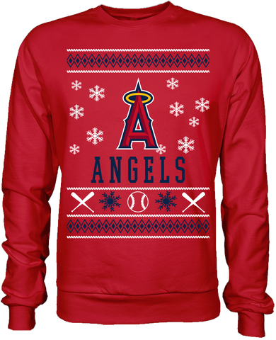 Los Angeles Angels Holiday Sweater