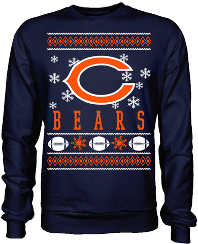 Chicago Bears Holiday Sweater