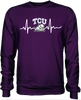 TCU Horned Frogs Heartbeat