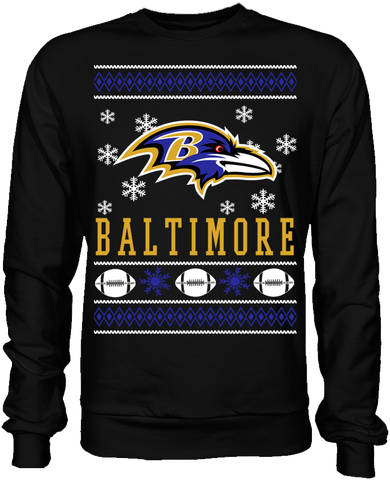 Baltimore Ravens Holiday Sweater