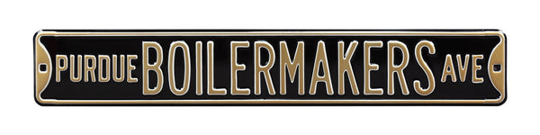 Purdue Boilermakers Ave Sign