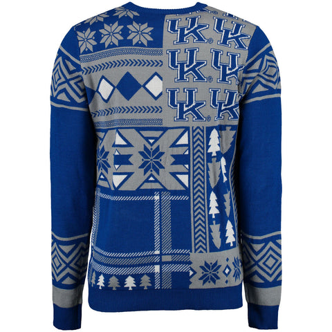 Kentucky Wildcats Patches Ugly Sweater