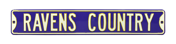 Baltimore Ravens Country Sign