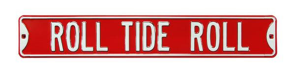 Roll Tide Roll Street Sign