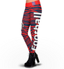 New York Giants Zebra Print Leggings