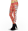 San Francisco 49ers Aztec Print Leggings