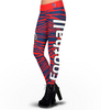 Houston Texans Zebra Print Leggings