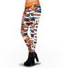 Denver Broncos Camo Print Leggings