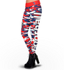 Houston Texans Camo Print Leggings