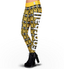 Pittsburgh Steelers Aztec Print Leggings