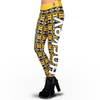 Boston Bruins Aztec Print Leggings