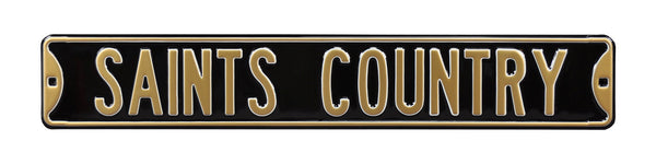 New Orleans Saints Country Sign