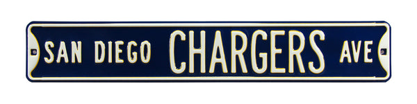 San Diego Chargers Ave Sign