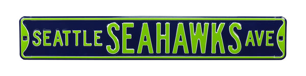 Seattle Seahawks Ave Sign