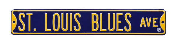 St. Louis Blues Ave Sign