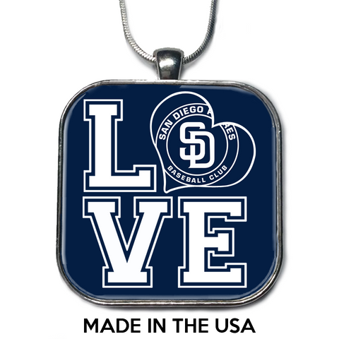 Love San Diego Padres Necklace