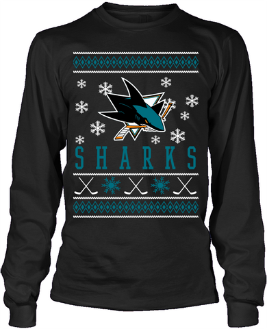 San Jose Sharks Holiday Sweater