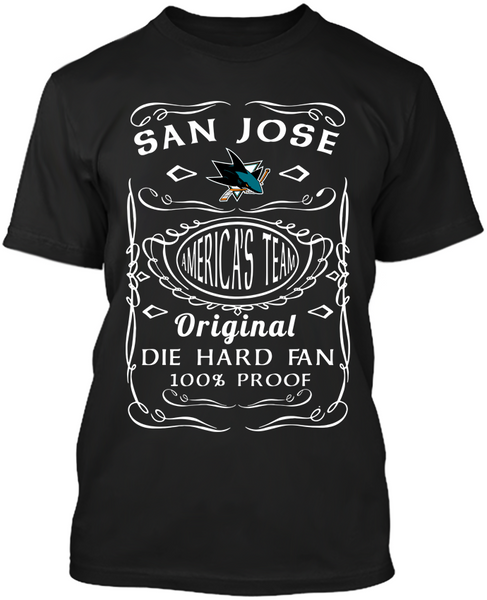 San Jose Sharks Die Hard Fan