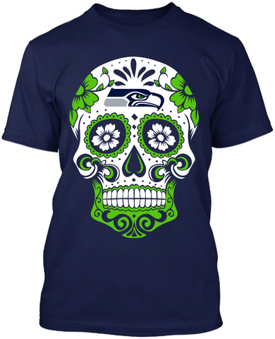 Seattle Seahawks - Skull