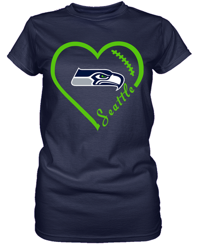 Seattle Seahawks Heart