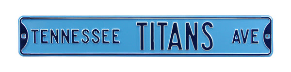Tennessee Titans Ave Sign