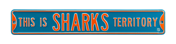San Jose Sharks Territory Sign