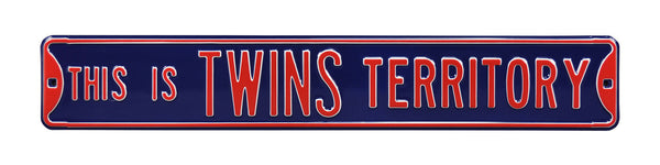 Minnesota Twins Territory Street Sign