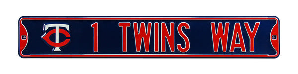 Minnesota Twins Way Street Sign