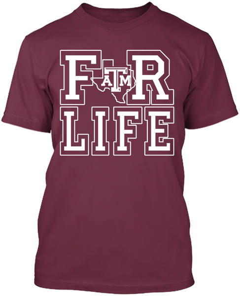 For Life - Texas A&M Aggies