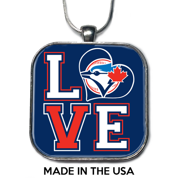 Love Toronto Blue Jays Necklace