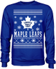 Toronto Maple Leafs Holiday Sweater