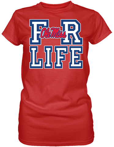For Life - University of Mississippi Rebels