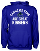 Vancouver Canucks Are Great Kissers