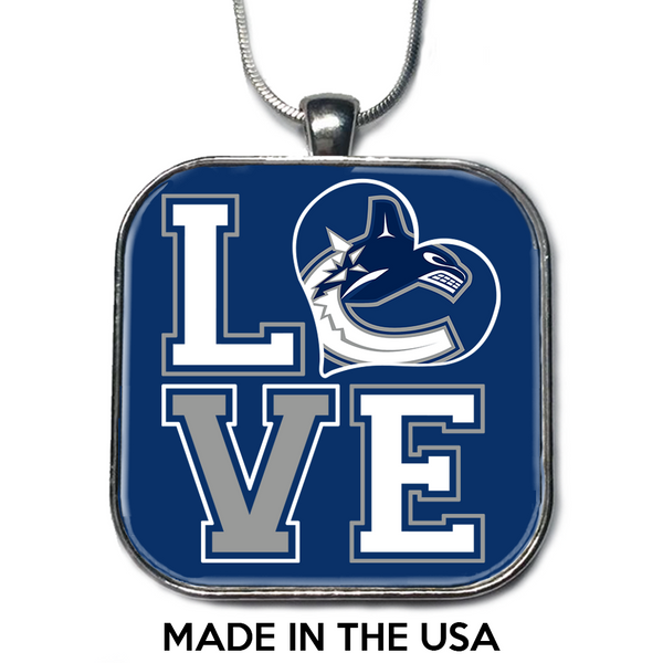 Love Vancouver Canucks Necklace