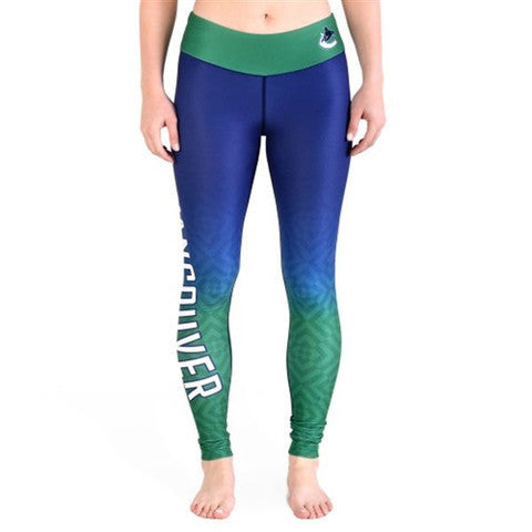 Love Vancouver Canucks Leggings