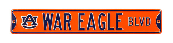 Auburn Tigers War Eagle Blvd Sign