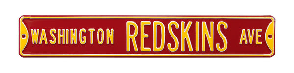 Washington Redskins Ave Sign