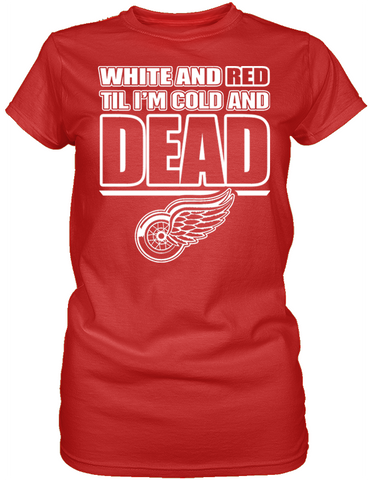 Dead Cold Red Wings