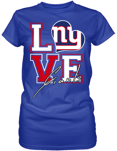 Love - New York Giants