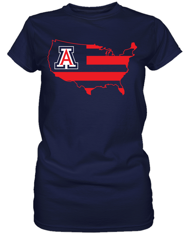 Arizona Wildcats - Broad Stripes