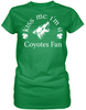 Kiss Me I'm A Coyotes Fan